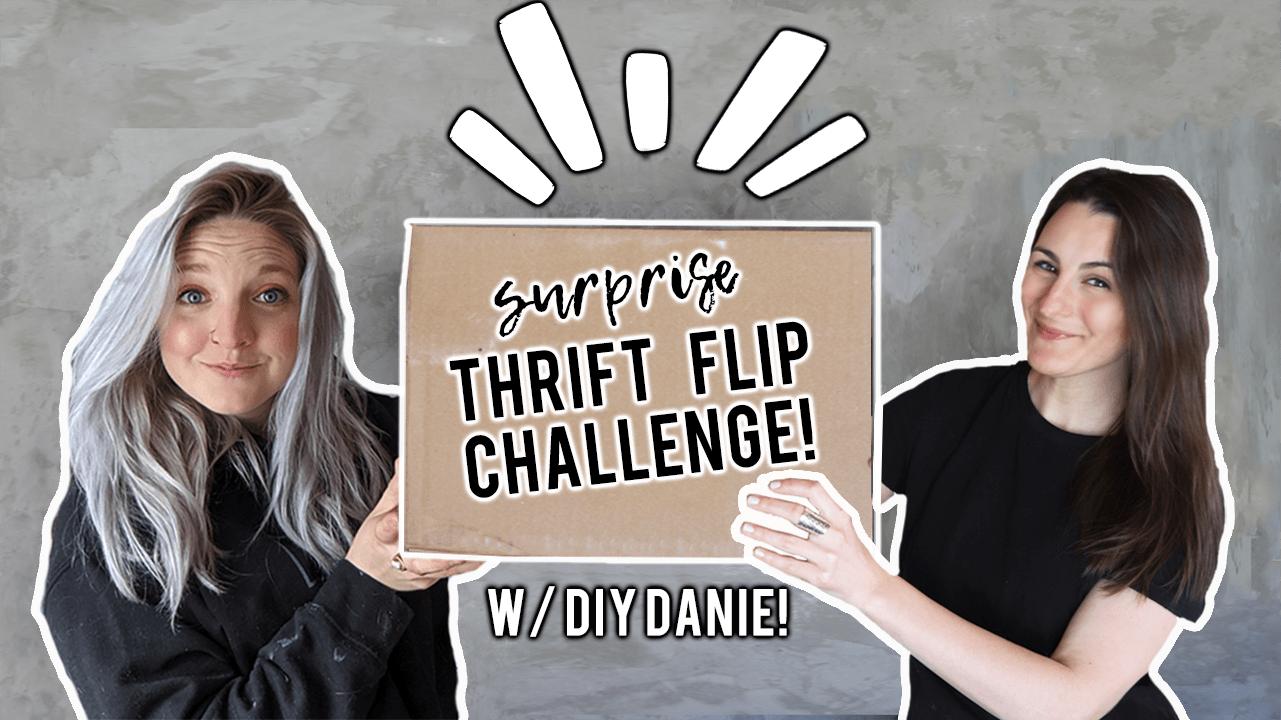 Thrift Flip Challenge With DIY Danie!