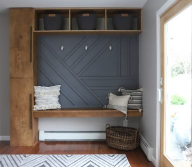 diy geometric accent wall ideas