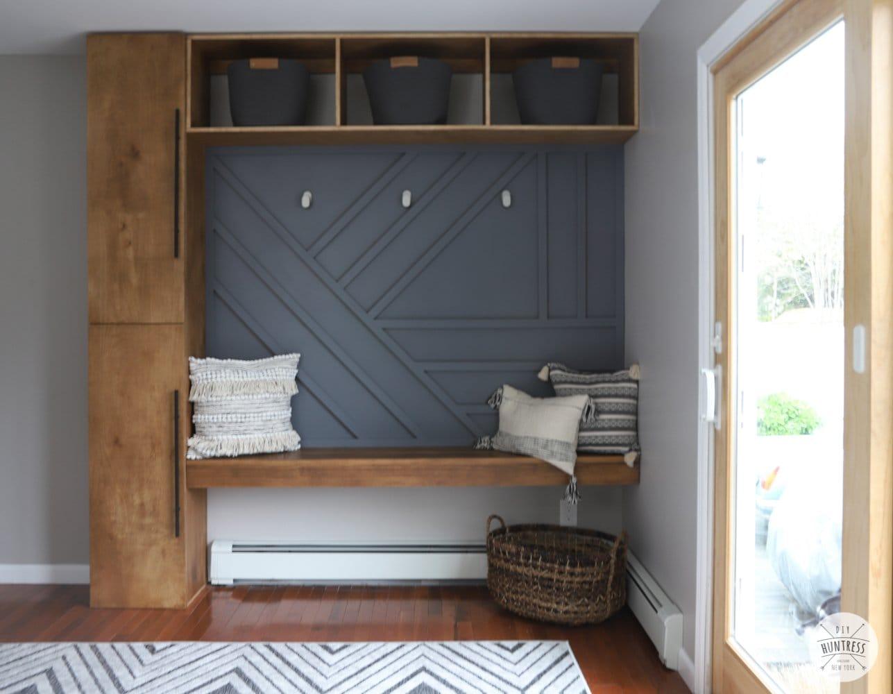 DIY Mudroom & Home Office Makeover!