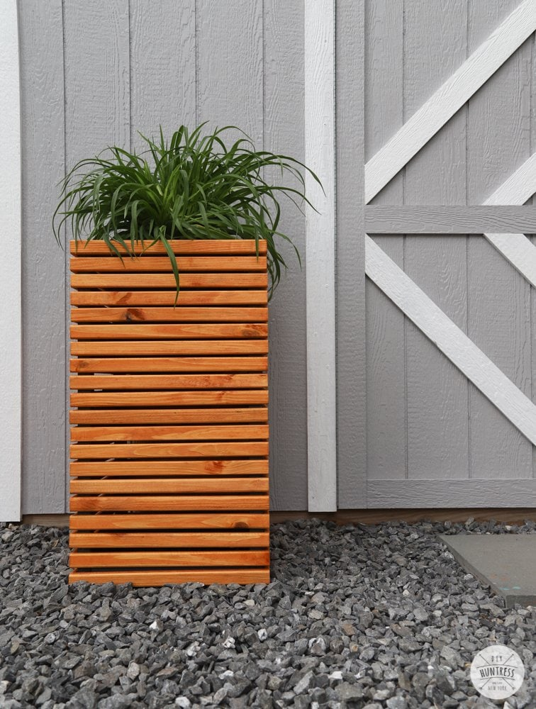 modern outdoor planter