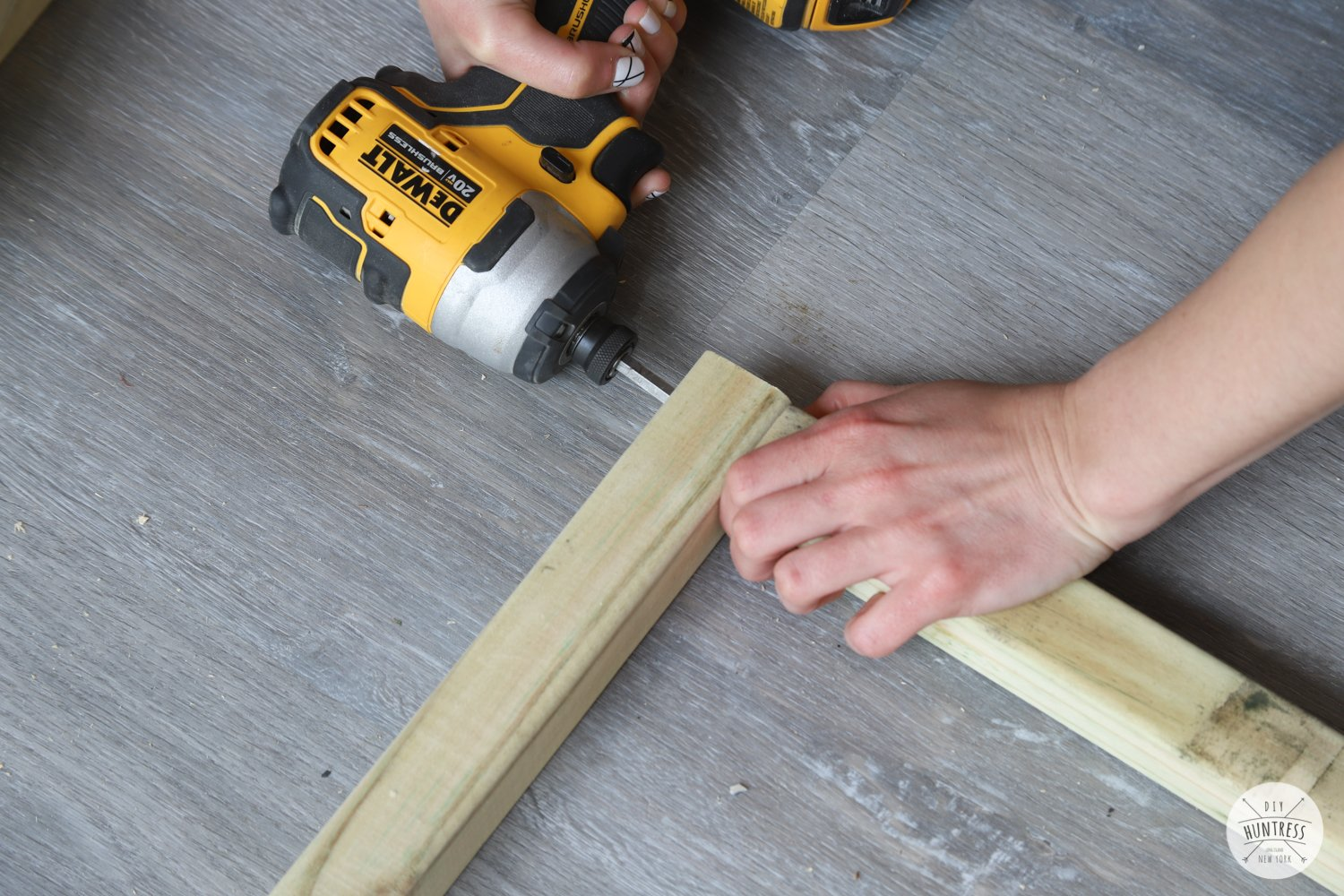 how to build a planter with 3 tools