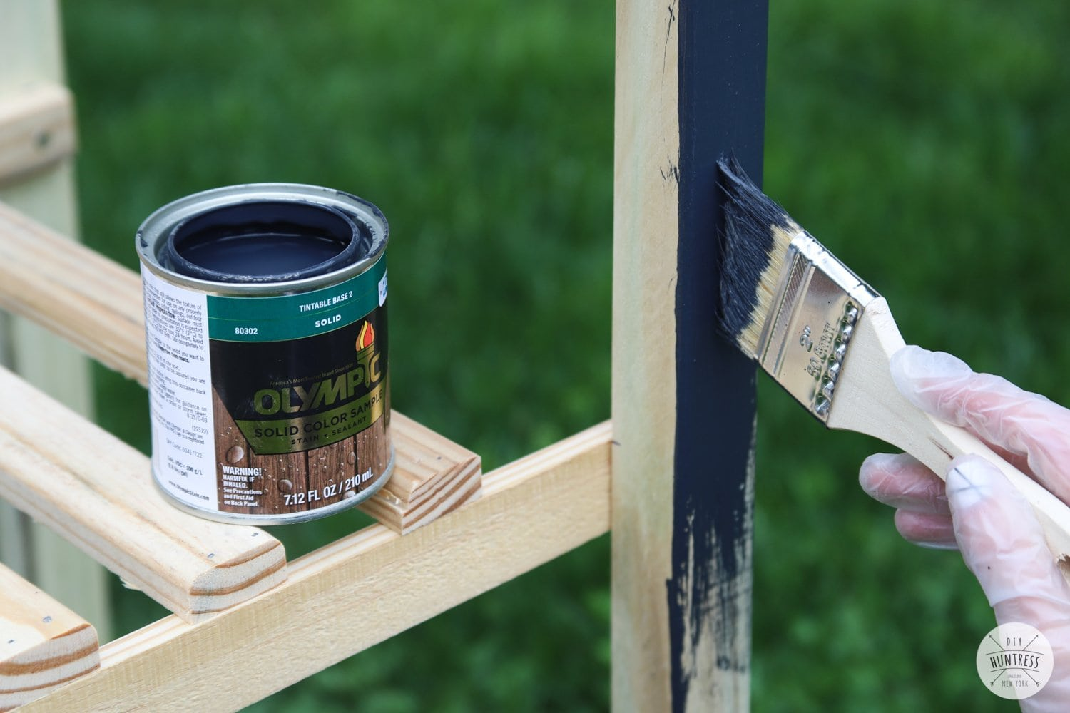 how to waterproof wood with olympic stain