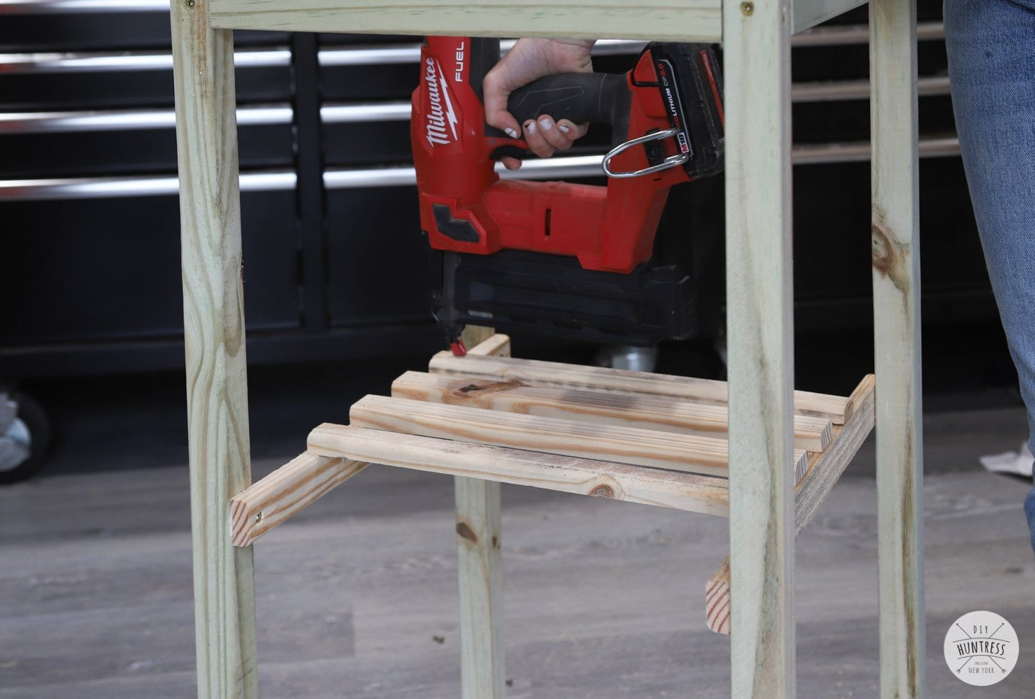 building a platform for a planter